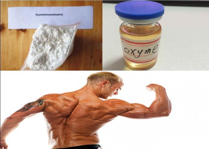 Oral Anabolic Steroids Oxymetholone White Powder CAS 434-07-1