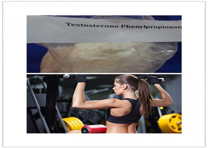 Test Phenylpropionate Fat Burning Steroids White Raw Muscle Gain Powder 1255-49-8