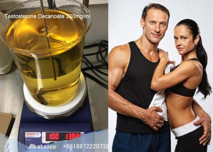 Legal Anabolic Steroids Muscle Building Test Deca / Testosterone Decanoate Powder CAS 5721-91-5