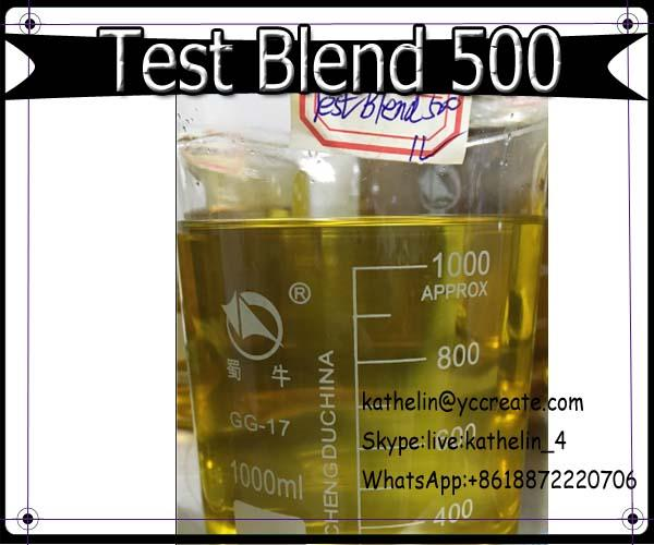 Yellow Muscle Building Steroid Oil Test Blend 300 Bulk Ready Liquid For Fitness