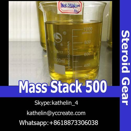 Safe Muscle Building Steroids , Pharmaceutical Raw Materials Mass Stack 500 Test Deca / EQ