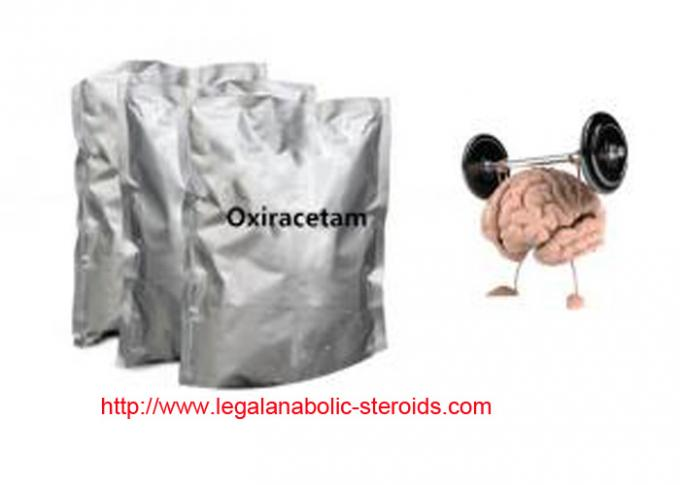 Natural Raw Hormone Powders Nootropics Powder Oxiracetam ISF 2522 CAS 62613-82-5