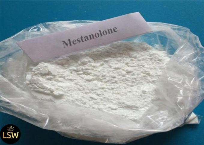 CAS 521-11-9 99% Purity White Crystalline Cutting Cycle Steroids Powder Mestanolone  For Bodybuilding