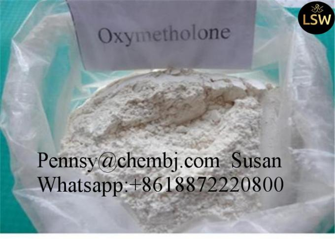 Oxymetholone / Anadrol Injectable Anabolic Steriod for Muscle Gain CAS 434-07-1 White Powder and 99% High Purity