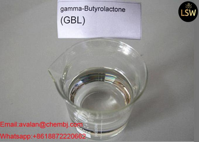99% Purity Colorless Liquid Oil Based Steroid Gamma - Butyrolactone / GBL CAS 96-48-0