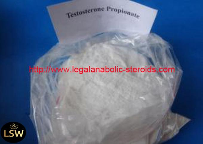 99% Pure White Legal Abolic Boday Building Steroids Testosterone Propionate CAS 57-85-2
