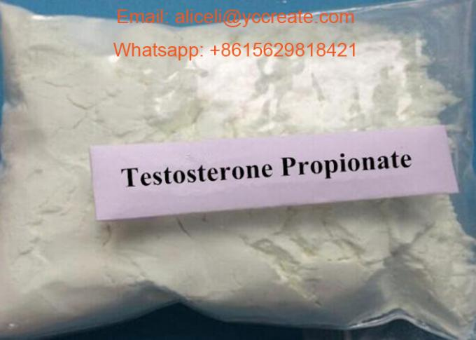 99% White Raw Steroids Powder Testosterone Anabolic Steroid Testosterone Propionate CAS 57-85-2 For Weight Loss