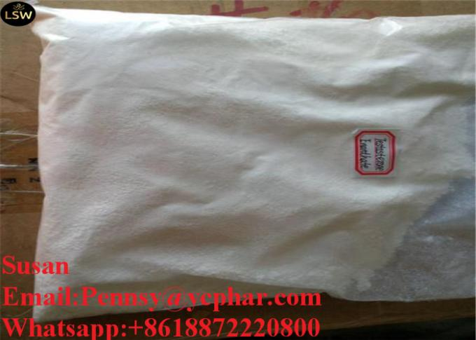 Injectable Anabolic Steroids Testosterone Enanthate CAS 315 37 7 White Powder High Puirty