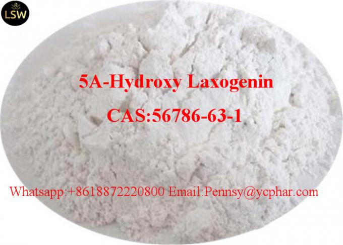 Muscles Increase and Injury Repairs Pharmaceutical Healthy Products Additives 5A-Hydroxy laxogenin CAS 56786 63 1 High P