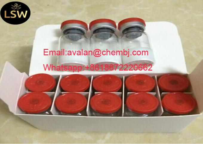 CAS 51753-57-2 98% Purity Human Growth Hormone Peptide CJC-1295 Freeze - Dried Powder Muscle Growth And Improve Sleeping
