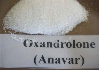 China Oxandrolone / Anavar Anabolic Androgenic Steroids White Powder CAS 53-39-4 For Mucle Gaining supplier