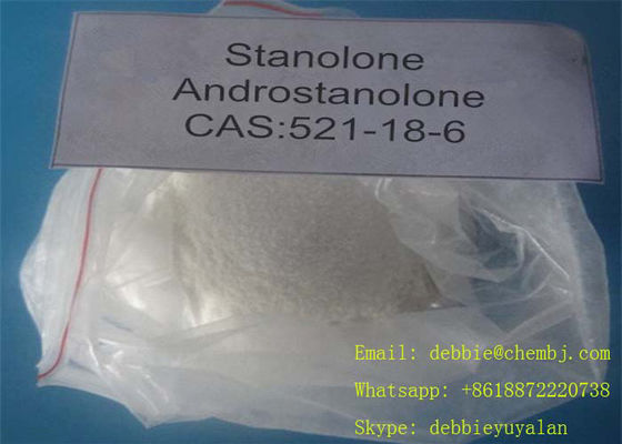 China Stanolone Legal Anabolic Steroids , Healthy Bodybuilding Supplements Cas 521 18 6 supplier