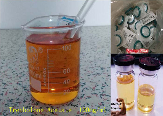 China Muscle Growth Trenbolone Powder Raw Parabolan / Trenbolone Enanthate 100mg/ml Oil supplier