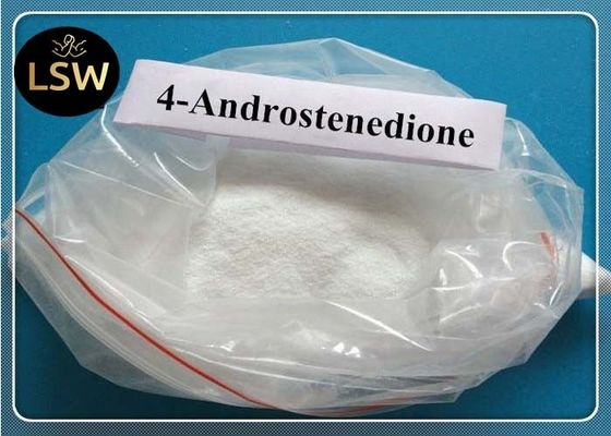 China Androstenedione Anabolic Steroid Powder , Cas 63 05 8 Anabolic Steroids For Muscle Building supplier