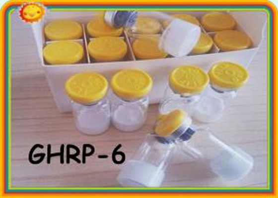 China Lean Muscle Mass Human Growth Hormone Peptide Releasing GHRP-6 99.5% Purity supplier