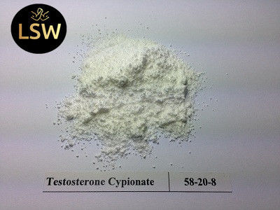 China 99% Purity Testosterone Cypionate Powder , Testosterone Anabolic Steroid CAS 58-20-8 supplier