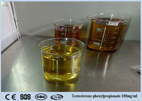 China Testosterone Oil Liquid Injectable Anabolic Steroids 99% Testosterone Phenylpropionate 100mg/ml supplier
