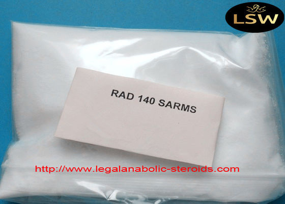 China Testolone SARMs Raw Powder Rad140 CAS 118237-47-0 99.5% Assay For Muscle Growth supplier