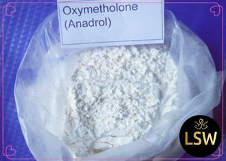 China White Powder Oral Legal Anabolic Steroids Oxymetholone / Anadrol CAS 434-07-1 supplier