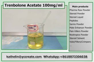China Healthy Oil Based Steroids , Trenbolone Acetate Steroid 100 Tren Ace 100mg/ml supplier