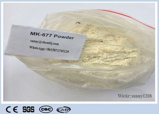 China Athletes Bodybuiling Fitness SARMs Raw Powder MK-0677 Ibutamoren For Increasing Growth supplier