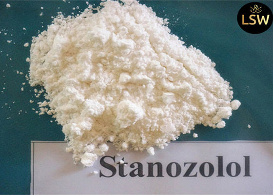 China 99% Purity Muscle Building Steroids Winstrol / Stanozolol CAS 10418-03-8 supplier