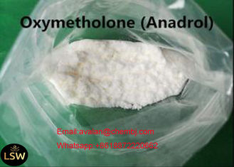 China CAS 434-07-1 White Crystalline Powder Oral Or Injectable Steroids Oxymetholone / Anadrol For Bodybuilding 99% Purity supplier