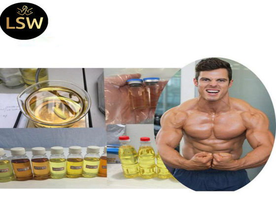 China 99% Purity Yellow Oil Based Liquid Trenbolone Acetate / Tren A 100mg/ml CAS 10161-34-9​ for Muscle gaining supplier