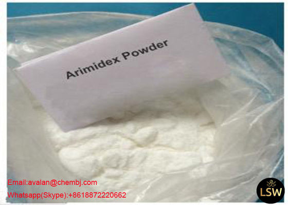 China Pharmaceutical Grade White Anti Estrogen Steroids Powder Anastrozole CAS 120511-73-1 99% Purity supplier