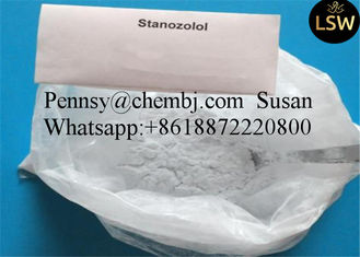 China Winstrol Stanozol Oral Anabolic Steroids for Bodybuiding White Powder 10418-03-8 supplier