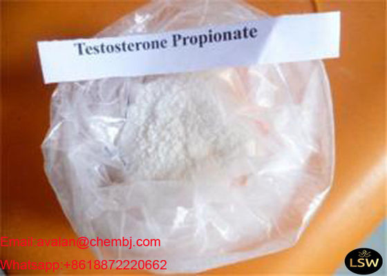 China 99% Pure White Legal Abolic Boday Building Steroids Testosterone Propionate CAS 57-85-2 supplier