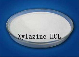 China α2 Adrenoceptor Agonist Xylazine Hydrochloride Veterinary Drug CAS 23076-35-9 White Powder supplier
