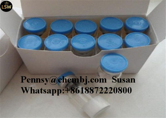 China Polypeptide Hormoes Anti-Anxiety Selank 5mg/vial Human Growth Hormone Releasing Peptides supplier