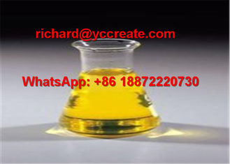 China Yellowish Oily Liquid Boldenone Undecylenate Raw Steroid Hormone For Muscle Gaining supplier
