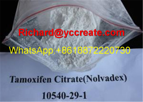 China Oral Anti Estrogen Steroids Tamoxifen Citrate/Nolvadex for Treating Anti-cancer CAS 54965-24-1 supplier