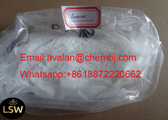 China CAS 53-39-4 99% Purity Muscle Gaining White Raw Legal Anabolic Steroids Powder Oxandrolone Anavar supplier