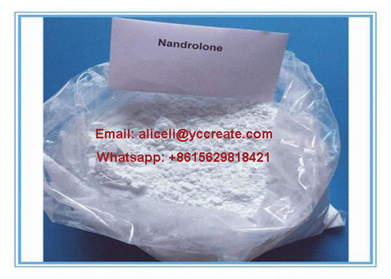 China 99% Purity No Side Effect Steroids Nandrolone Raw Hormone Powders Nortestosterone CAS 434-22-0 supplier