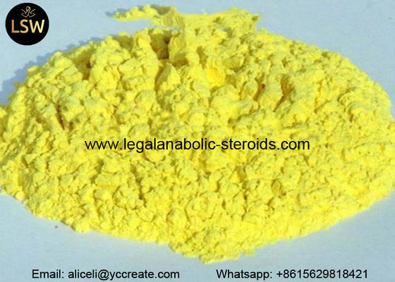 China Trenbolone Acetate Pale Yellow Powder Hormone Revalor - H for Muscle Building CAS 10161-34-9 supplier