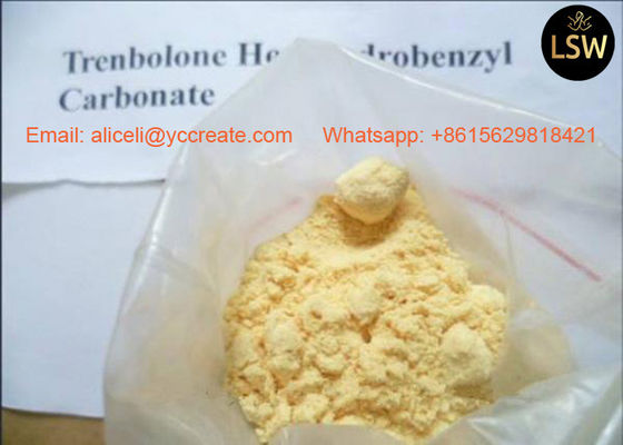 China CAS 23454 33 3 99% Trenbolone Hexahydrobenzyl Carbonate Parabolan Strong Trenbolone Gain Muscles supplier