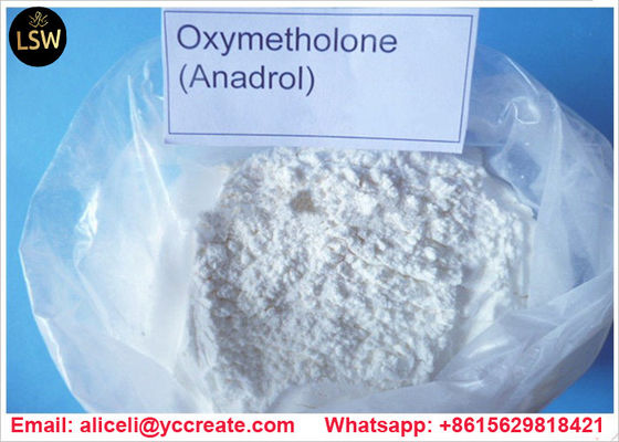 China 99% Purity CAS 434 07 1 Natural Anabolic Steroids Oxymetholone Anadrol Bulking Powder For Muscle Gain supplier