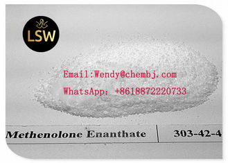 China White Color Legal Anabolic Steroids Powder Methenolone Enanthate CAS 303-42-4 For Muscle Building supplier