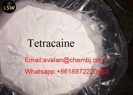 China USP Standard CAS 94-24-6 99% Purity White Raw Material Powder Local Anaesthesia Drugs Pain Reliever Tetracaine/INN supplier