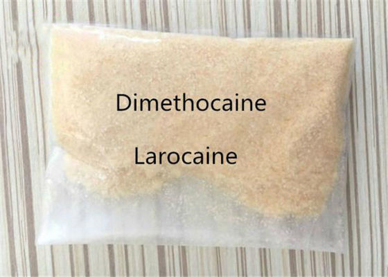 China 98% High Purity Strongest Pain Killer White Crystalline Powder Dimethocaine Larocaine In Stock CAS 94 15 5 supplier