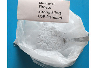 China Safe Raw Steroids Muslce Growth Powder Stanozolol / Winstrol CAS 10418-03-8 supplier