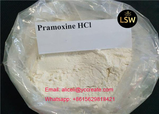 China Pramoxine HCl Pharmaceutical Intermediate Local Anesthetic Pramoxine Hydrochloride CAS 637 58 1 supplier
