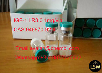 China 98% Purity Legal Human Growth Hormone Peptide 0.1mg/ Vial IGF-1 LR3 CAS 946870-92-4 supplier