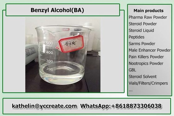 Solvent - Benzyl Alcohol BA Bodybuilding Legal Steroids For Injection Steroid Liquid Homebrew