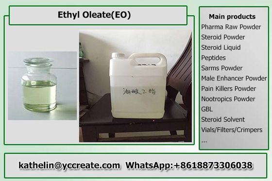 Adult Liquid Anabolic Steroids Solvent - Ethyl Oleate EO Pharma Raw Materials