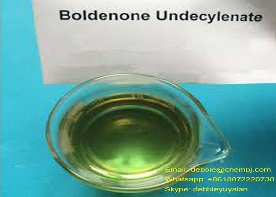 Boldenone Steroid EQ Equipoise CAS 13103-34-9 for Mass Gaining Yellow Liquild