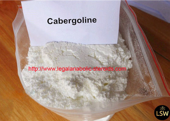 High Purity White Anti Estrogen Steroids Powder Cabergoline for Muscle Gaining CAS 81409-90-7